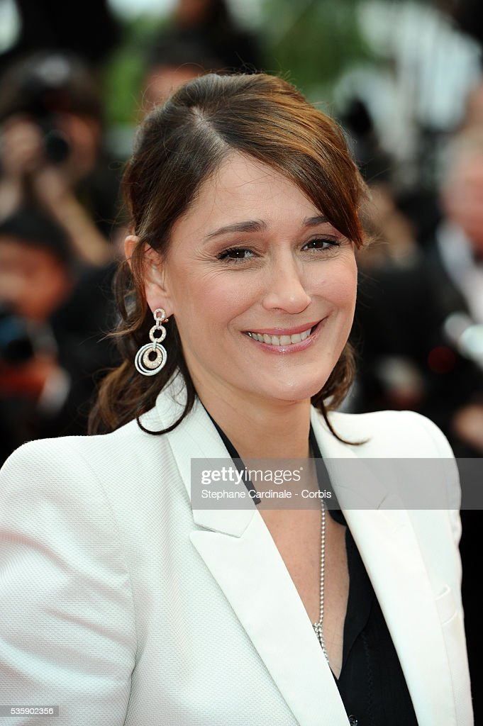 Daniela Lumbroso at the Premiere for 'You will meet a tall dark stranger' during the 63rd Cannes International Film Festival.