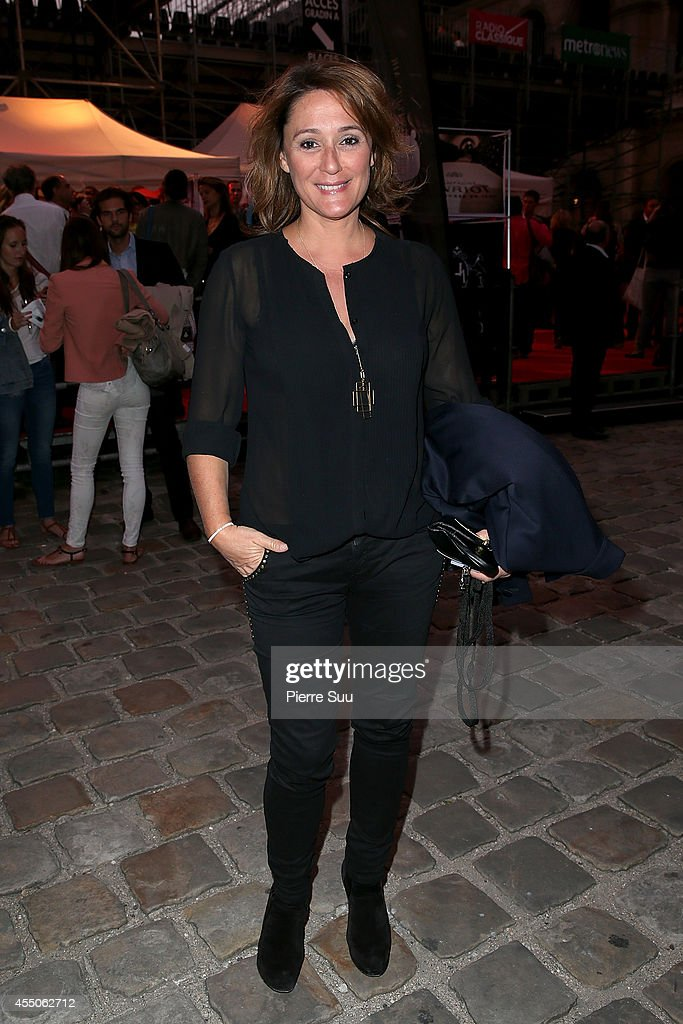 Daniela Lumbroso attends 'Don Giovanni - Opera En Plein Air' at Hotel Des Invalides on September 9, 2014 in Paris, France.