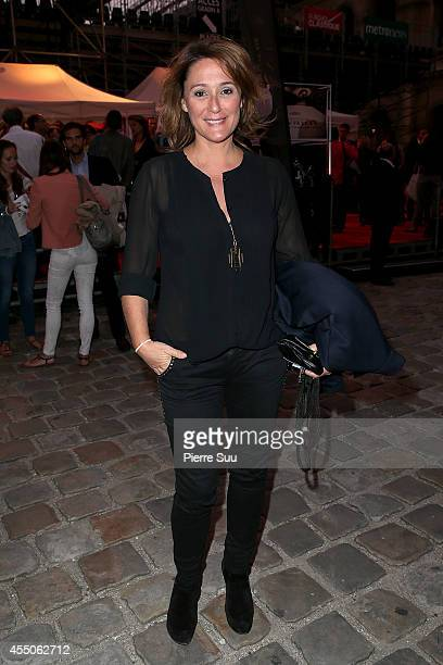 Daniela Lumbroso attends 'Don Giovanni Opera En Plein Air' at Hotel Des Invalides on September 9 2014 in Paris France