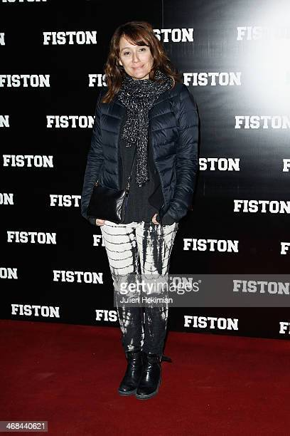 Daniela Lumbroso attends 'Fiston' Paris Premiere at Le Grand Rex on February 10 2014 in Paris France