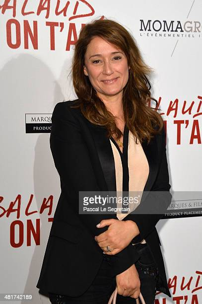 Daniela Lumbroso attends 'Salaud On T'Aime' Paris Premiere at Cinema UGC Normandie on March 31 2014 in Paris France