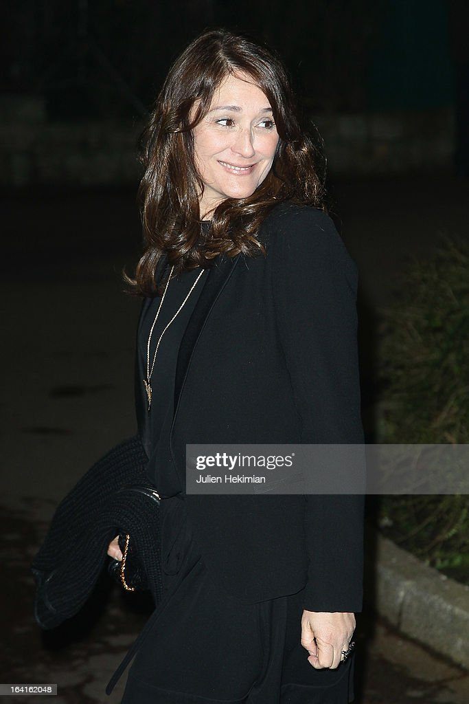 Daniela Lumbroso attends the 28th Dinner of 'Conseil Rrepresentatif Des Institutions Juives De France at Pavillon d'Armenonville on March 20, 2013 in Paris, France.