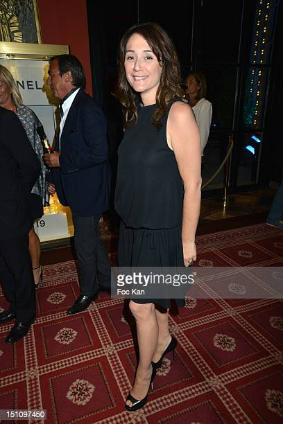 Daniela Lumbroso attends the 38th Deauville American Film Festival Dinner at Casino Lucien Barriere on August 31 2012 in Deauville France