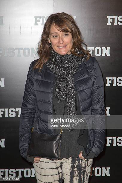 Daniela Lumbroso attends the 'Fiston' Paris Premiere at Le Grand Rex on February 10 2014 in Paris France