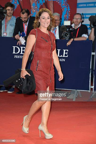 Daniela Lumbroso attends the 'Get On Up' premiere on September 12 2014 in Deauville France