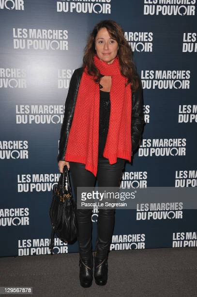 Daniela Lumbroso attends 'The Ides of March'Paris Premiere at Cinema UGC Normandie on October 18 2011 in Paris France