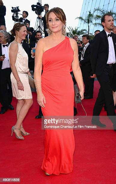 Daniela Lumbroso attends the 'MrTurner' Premiere at the 67th Annual Cannes Film Festival on May 15 2014 in Cannes France