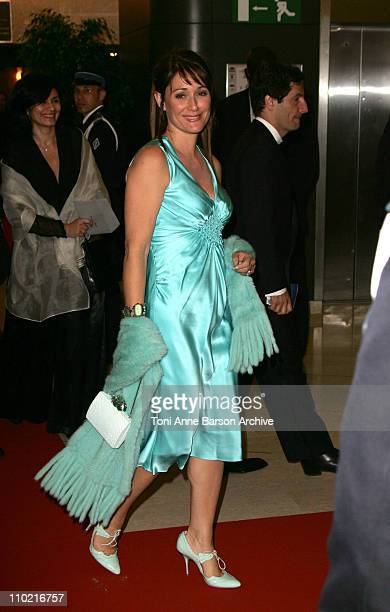 Daniela Lumbroso during 2005 Cannes Film Festival Opening Gala Dinner at Palais des Festival in Cannes France