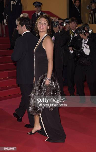 Daniela Lumbroso during Cannes 2002 'Star Wars Episode II Attack of the Clones' Premiere at Palais des Festivals in Cannes France