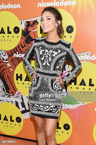 Daniela Nieves attends the 2015 Nickelodeon HALO Awards at Pier 36 on November 14 2015 in New York City