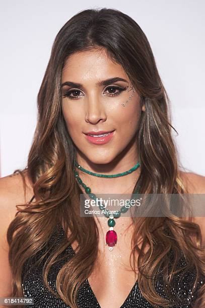 Daniela Ospina attends ELLE Magazine 30th anniversary party at Circulo de Bellas Artes Club on October 26 2016 in Madrid Spain