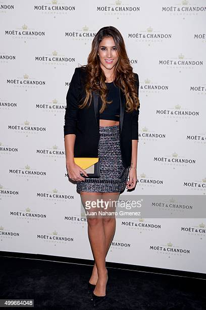 Daniela Ospina attends 'Moet Chandon' party at Circulo de Bellas Artes on December 2 2015 in Madrid Spain