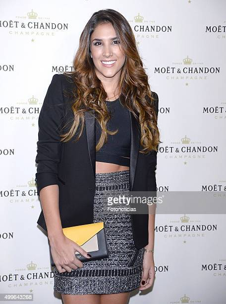 Daniela Ospina attends the 'Moet Chandon' Party at the Circulo de Bellas Artes on December 2 2015 in Madrid Spain