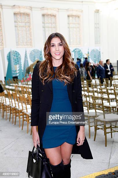 Daniela Ospina attends the Petite Fashion Week 2nd Edition on October 16 2015 in Madrid Spain
