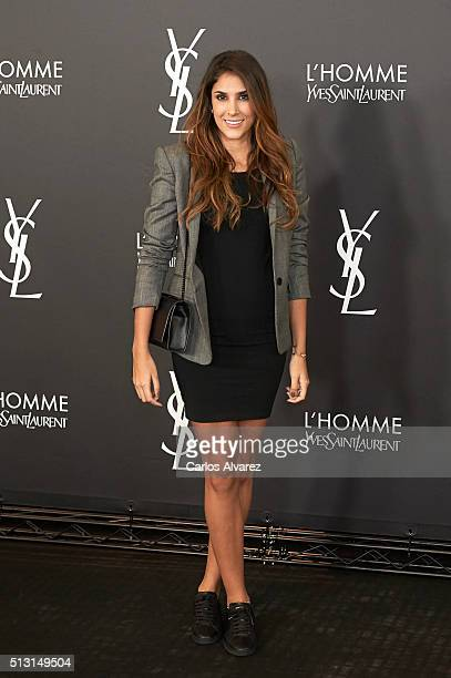 Daniela Ospina attends Yves St Laurent Beauty cocktail party on February 29 2016 in Madrid Spain