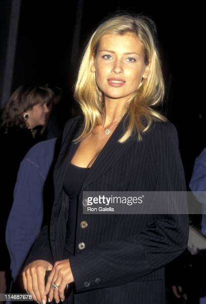 Daniela Pestova during Champagne Krug Toast to the NY Collection Fashion Benefit DIFFA October 25 1995 at Supper Club in New York City New York...