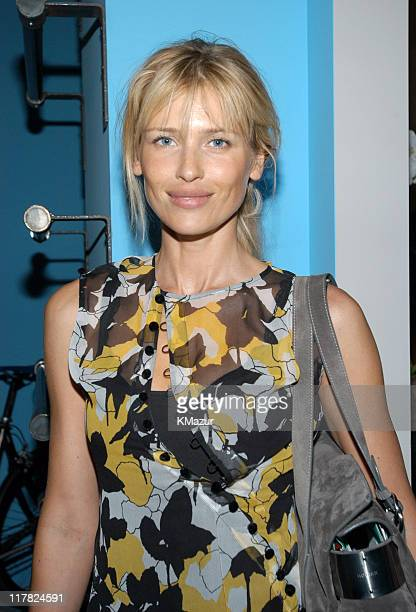 Daniela Pestova during Esquire Apartment 2003 Launch Party Inside at Esquire Apartment Trump World Tower in New York City New York United States