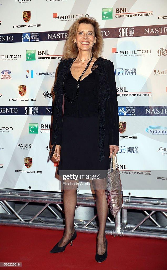 Daniela Poggi attends Nastri D'Argento 2016 Award Nominations at Maxxi on May 31, 2016 in Rome, Italy.