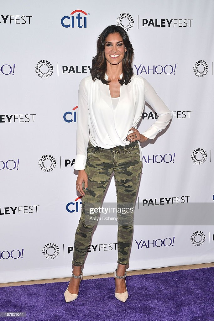 Daniela Ruah attends The Paley Center for Media's PaleyFest 2015 Fall TV preview of 'NCIS: Los Angeles' at The Paley Center for Media on September 11, 2015 in Beverly Hills, California.
