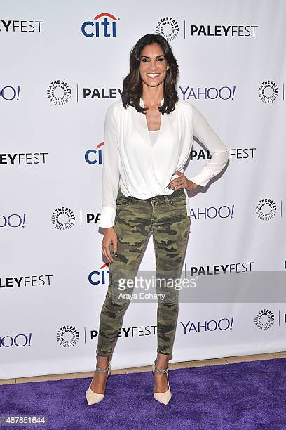 Daniela Ruah attends The Paley Center for Media's PaleyFest 2015 Fall TV preview of 'NCIS Los Angeles' at The Paley Center for Media on September 11...