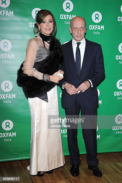 Daniela Santanche and Alessandro Sallusti attend Women's Circle 2013 In Milan on December 5 2013 in Milan Italy