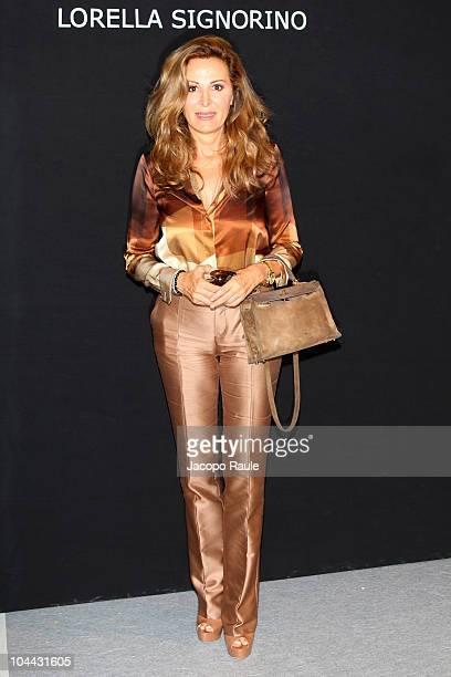 Daniela Santanche attends Love Sex Money Milan Fashion Week Womenswear S/S 2011 on September 24 2010 in Milan Italy