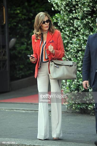 Daniela Santanche is seen on May 16 2014 in Milan Italy