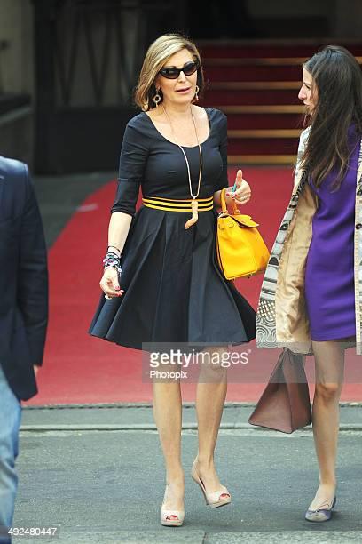 Daniela Santanche is seen on May 20 2014 in Milan Italy