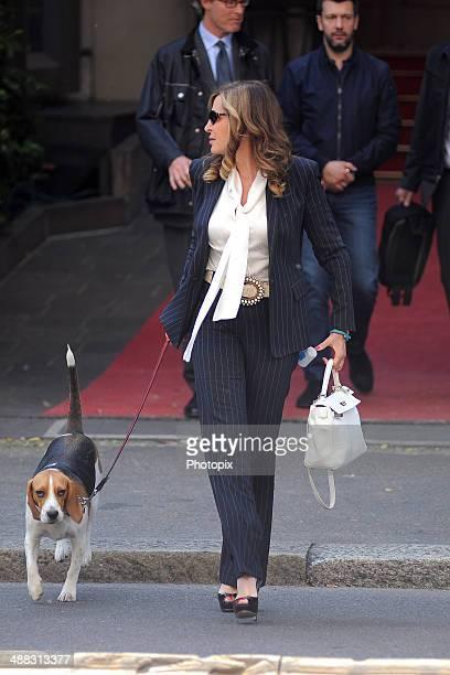 Daniela Santanche is seen on May 5 2014 in Milan Italy
