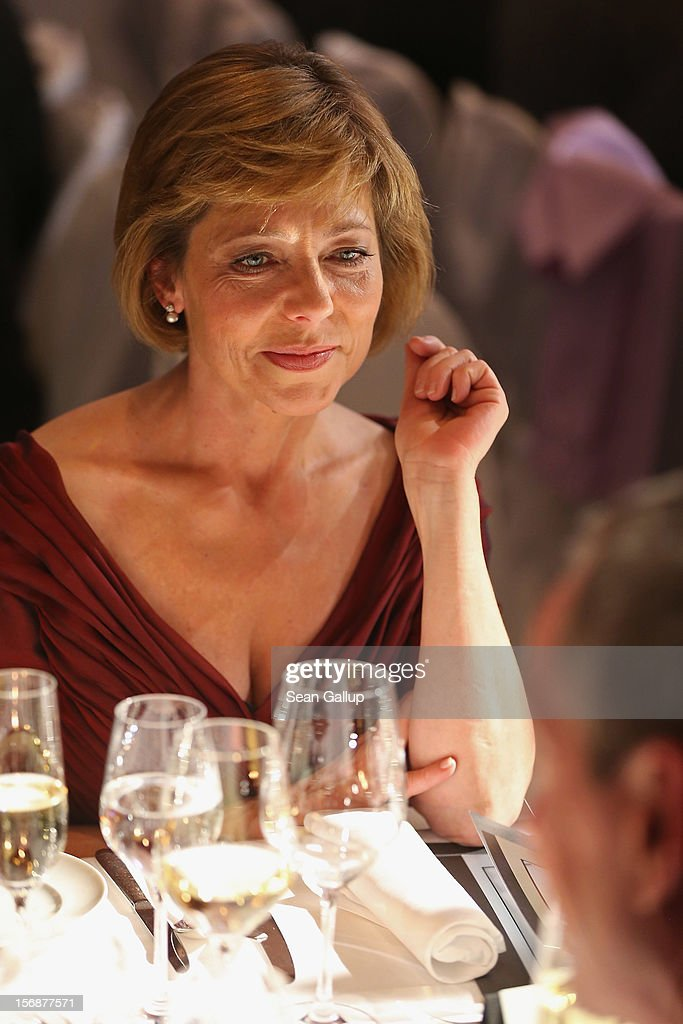 Daniela Schadt, partner of German President Joachim Gauck, attends the 2012 Bundespresseball (Federal Press Ball) at the Intercontinental Hotel on November 23, 2012 in Berlin, Germany.