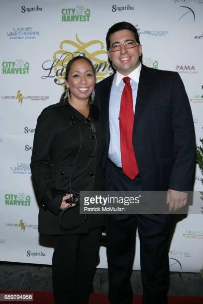 Daniela Shafir and Steve Dilonardo attend Grand Opening of La Pomme at 37 W 26th St on September 17 2009 in New York City