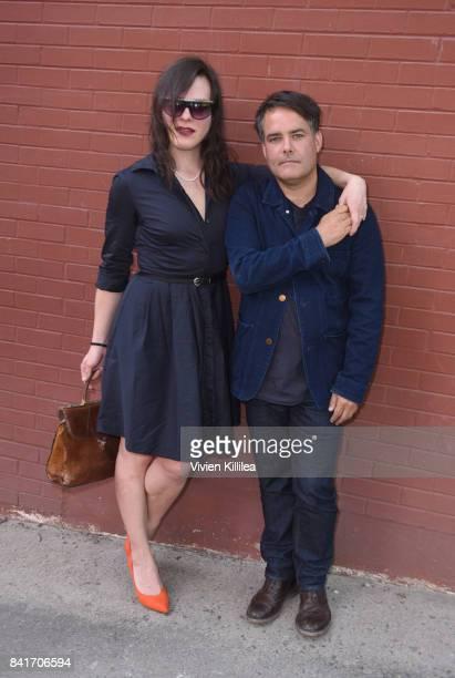 Daniela Vega and Sebastian Lelio attend the Telluride Film Festival 2017 on September 1 2017 in Telluride Colorado
