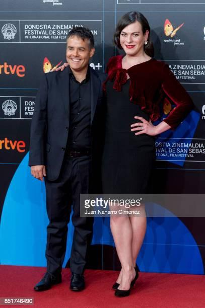 Daniela Vega attends 'Submergence' premiere during 65th San Sebastian Film Festival on September 22 2017 in San Sebastian Spain