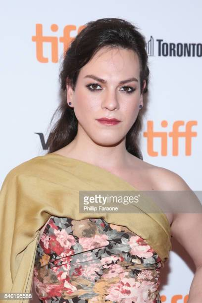 Daniela Vega attends the 'A Fantastic Woman' premiere during the 2017 Toronto International Film Festival at The Elgin on September 12 2017 in...