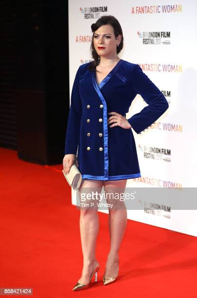 Daniela Vega attends the BFI Flare Special Presentation and UK Premiere of 'A Fantastic Woman' during the 61st BFI London Film Festival on October 6...
