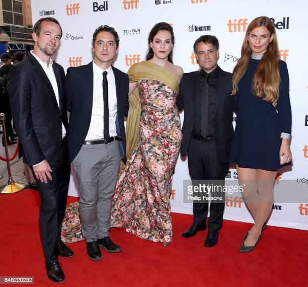 Daniela Vega director Sebastian Lelio and guests attend the 'A Fantastic Woman' premiere during the 2017 Toronto International Film Festival at The...
