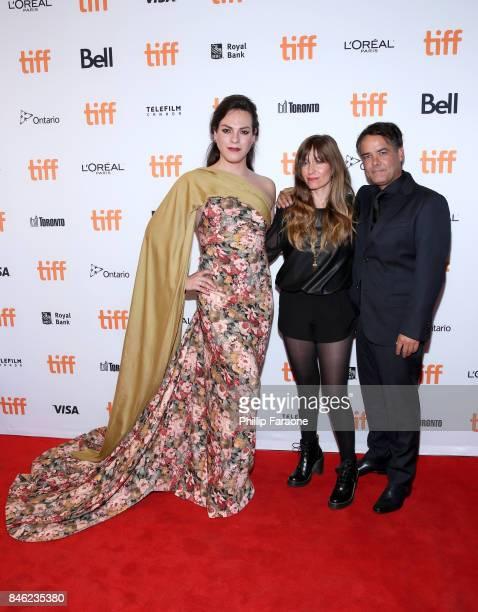 Daniela Vega Frida Torresblanco and Sebastian Lelio attend the 'A Fantastic Woman' premiere during the 2017 Toronto International Film Festival at...