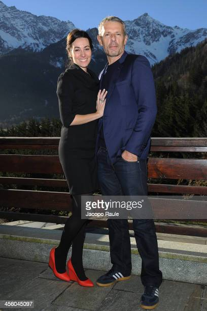 Daniela Virgilio and Lambert Wilson attend Day 4 of the 23rd Courmayeur Noir In Festival on December 13 2013 in Courmayeur Italy