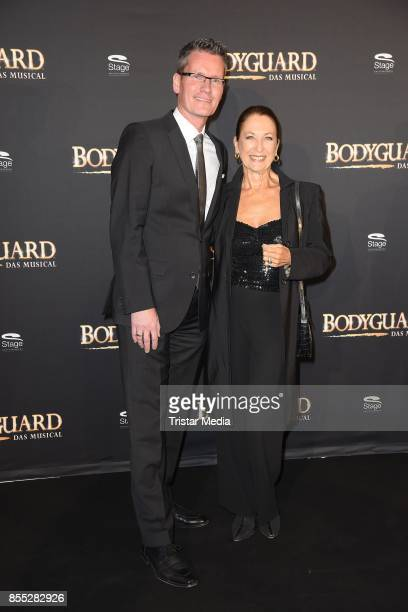 Daniela Ziegler and Uwe Kalkowsky attend the 'Bodyguard Das Musical' premiere at Stage Palladium Theater on September 28 2017 in Stuttgart Germany