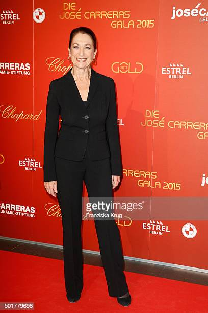 Daniela Ziegler attends the 21th Annual Jose Carreras Gala at Hotel Estrel on December 17 2015 in Berlin Germany