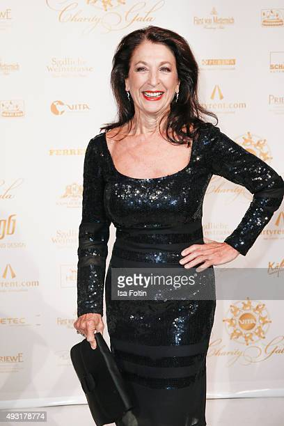 Daniela Ziegler attends the 6th VITA Charity Gala at Kurhaus on October 17 2015 in Wiesbaden Germany