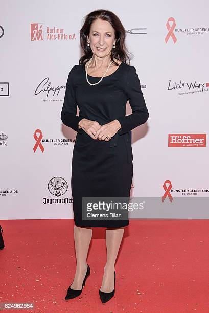Daniela Ziegler attends the Artists Against Aids Gala at Stage Theater des Westens on November 16 2016 in Berlin Germany