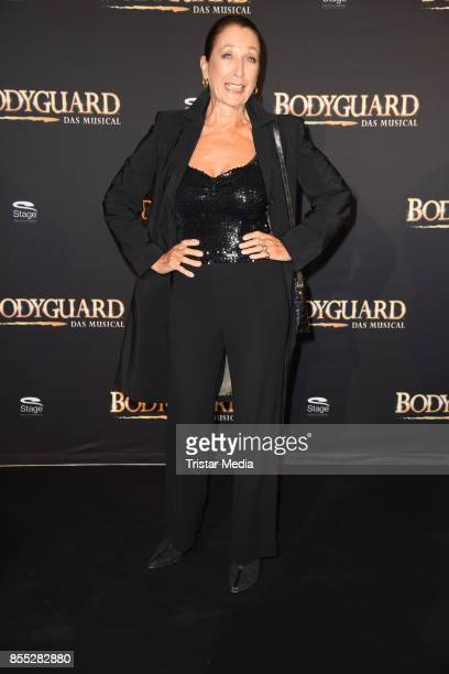 Daniela Ziegler attends the 'Bodyguard Das Musical' premiere at Stage Palladium Theater on September 28 2017 in Stuttgart Germany