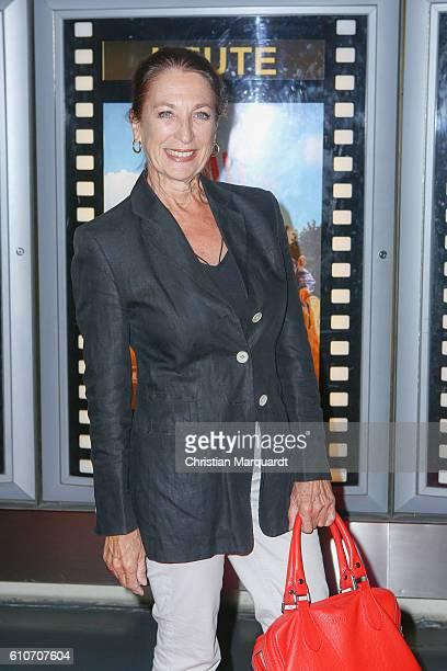 Daniela Ziegler attends the 'Die letzte Sau' premiere at Kino in der Kulturbrauerei on September 27 2016 in Berlin Germany