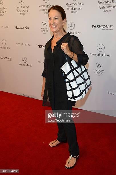 Daniela Ziegler attends the Minx by Eva Lutz show during the MercedesBenz Fashion Week Spring/Summer 2015 at Erika Hess Eisstadion on July 9 2014 in...