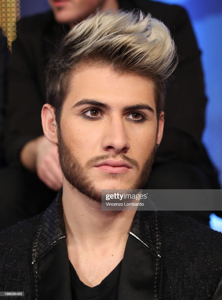 Daniele ( Daniele Coletta) attend 'Cielo Che Gol' Italian TV Show on December 9, 2012 in Milan, Italy.