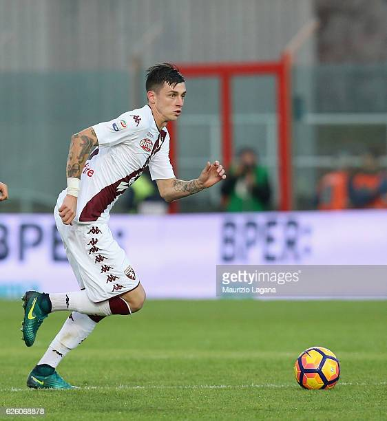 Daniele Baselli of Torino during the Serie A match between FC Crotone and FC Torino at Stadio Comunale Ezio Scida on November 20 2016 in Crotone Italy