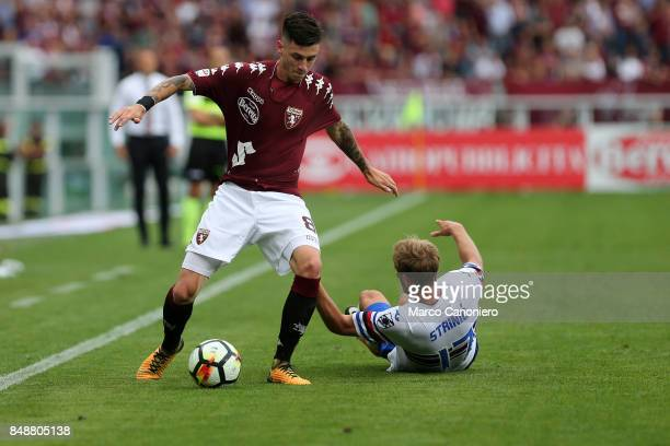Daniele Baselli of Torino FC in action during the Serie A football match between Torino Fc and Uc Sampdoria