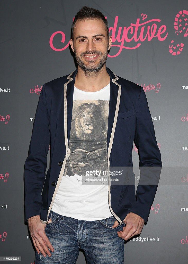 Daniele Battaglia attends the Maddalena Corvaglia Presents Maddyctive Web Magazine at Old Fashion Cafe on March 17, 2014 in Milan, Italy.