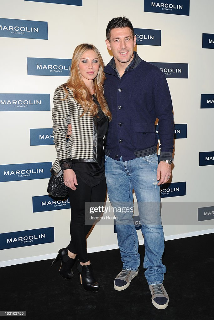 <a gi-track='captionPersonalityLinkClicked' href=/galleries/search?phrase=Daniele+Bonera&family=editorial&specificpeople=615708 ng-click='$event.stopPropagation()'>Daniele Bonera</a> attends Marcolin Hosts 'Sguardi d'Atelier' Exhibition on March 5, 2013 in Milan, Italy.